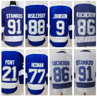 personalized 86 KUCHEROV 91 STAMKOS Hockey Jerseys shirts, Di...
