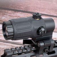 الصيد البصر G33 الادسنس 3X المكبر مع التبديل إلى جانب خيارات انفصال QD جبل لصيد الأسود دارث الأرض والأحمر