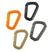 5 قطع البلاستيك حلقة تسلق d شكل 200lb سريعة الإصدار تسلق الجبال إبزيم التقط كليب تسلق حلقة تسلق هوك المفاتيح الملحقات