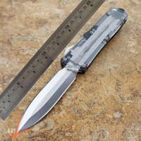 transparentes automatisches Messerselbstesser TF-Doppeltätigkeit wahlweise freigestelltes Jagd-Taschen-Messer Fischenmesser Überleben-Messer geben Verschiffen frei Großverkauf