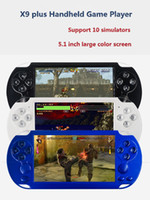 X9 plus Bit Double rocker 8G Handheld Video Games Console Vi...