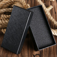 YISUYA Simple Black Rectangle Watch Boxes Top Gift Sets Wris...