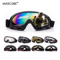 MASCUBE Skiing Eyewear Glass Goggles 5 Colors Snowboard Gogg...