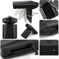 "H198 Auto Dvr Recorder Auto Camera 6 Led Hd 1080p noche infrarroja para visión Universal 2.5 ""Lcd Screen Styling envío gratis"