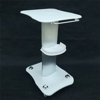 Beauty Trolley Stand Holder Rolling Cart Roller Wheel Aluminum ABS Trolley for Hydro Dermabrasion RF Cavitation IPL Machine DHL