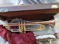 Envío libre de la trompeta LT190S-77 del instrumento de música de trompeta Bb plana trompeta de calificaciones preferido boquillas de desempeño profesional de regalo