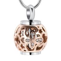 IJD9959 شحن تخصيص نقش فارغة اسطوانة مجوهرات الحرق مع فراشة طوق التذكار المنجد قلادة للرماد