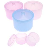 3 colori Nail sterilizzatore disinfezione Storage Box Clean Strumenti Nail Drill Bits per pulizia in accessori acrilico Manicure