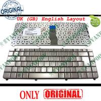 Nuova tastiera del computer portatile per HP Pavilion dv5-1000 DV5 dv5t dv5z versione Brozen UK GB Inglese - NSK-H5P0U