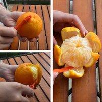 sezione 15 centimetri lunga Arancione o Citrus Peeler Frutta Zesters Stripper dispositivo arancione scuoiatura coltello Citrus Opener strumenti di frutta YYA57