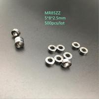 500 шт. / лот MR85ZZ MR85 ZZ радиальный шарикоподшипник 5x8x2. 5 мм миниатюрный экранированный MR85Z 5*8*2.5 мм 675ZZ 675 ZZ