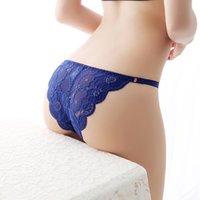 Bragas de las mujeres sexy encaje suave respirador calzoncillos mujeres ropa interior damas panty transparente de baja altura lencería 7 colores
