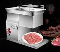 400KG / H Cutter multifonction en acier inoxydable Découpe de viande machine commerciale électrique tranches de viande déchiquetée Maker