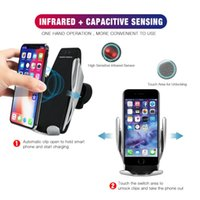 Automatic Clamping Wireless Car Charger Receiver Mount Charg...
