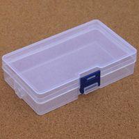 Clear Storage boîte en plastique Outils Container Case à vis coudre PP Boîtes de composants Transparent Vis ENCADRÉ Bijoux