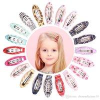 Kids Cute Hair Faixa Clipe Cartoon Bebê Meninas Hairpin Borboleta Coração Impresso Barrettes Crianças Accessários de Cabelo