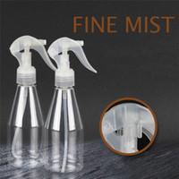 200ml Beschlagen Spray-Flasche Fein leeren Mist Sprühflasche Trigger-Wasser-Plastikflasche Bewässerung Reinigung Garten