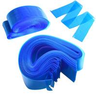 100 stks / set Blue Tattoo Clip Plastic Cord Sleeves Tassen Supply Disposable Covers Tassen voor Tattoo Machine Tattoo Accessoire