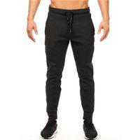 Warrior Lettre Imprimé Mens Marque Designer Jogger Pantalon Pantalon De Survêtement Mâle Casual Couleur Unie Crayon Pantalon Gym Pantalon De Sport