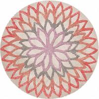 Корзина поворотный стул коврик геометрия круглый цветок Оранжевый Синий мультфильм прекрасный детская комната ковры новый Arrvial 59jq3 E1