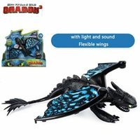 Come addestrare il tuo drago 3 Action Figures Senza fronzoli Stormfly Giunti mobili Action Figure With Light Sound OOA6463