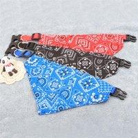 Collar de perro de animal doméstico encantador Doglemi perro de mascota ajustable perrito del gato del cuello de la bufanda del pañuelo del collar de perro pañuelo para el cuello
