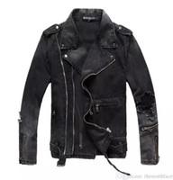 Chaqueta de mezclilla de moda para hombre La mejor calidad Slim Casual Streetwear Vintage para hombre Ropa de Jean