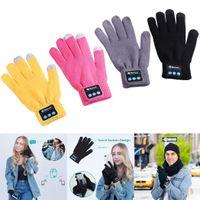 Перчатки fashion-экран мобильного парного 3 Беспроводные Wear телефон громкой связи Bluetooth Stereo Унисекс 0 6H Сенсорный Теплое Смарт