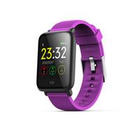 Q9 피트니스 트래커 HR, Activity Tracker 안드로이드 및 IOS 폰용 심장 박동 혈압계와 방수 스마트 시계 손목 밴드