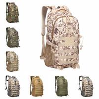 التمويه التكتيكي حقيبة الظهر 9 ألوان ذكر الجيش التمويه متعددة الوظائف حقيبة الجيش للماء أكسفورد حقائب السفر الرياضة 5 قطع OOA6164