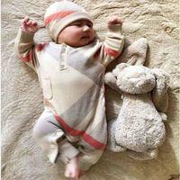 Nouveau-né Hiver Chaud Bébé Bébé Beaux Vêtements Vêtements Baby Garçon Jeunesse Jumpsuit Jumpse à capuche Enfant Enfant Vêtements de dessus et chapeau