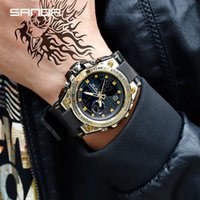 2019 New SANDA Brand Watch Sports Men' s Watches Top Bra...