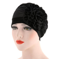 Women Beanies Female Hats Scarf Cancer Hat Bonnet Chimio Cot...
