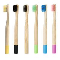 Antique Design Bambu Toothbrush Eco Friendly Escovas De Dentes Produtos Reusáveis Europa e América 2 4SX K1