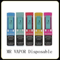 MR VAPOR Disposable Device Pod Starter Kit 280mAh Battery 1....