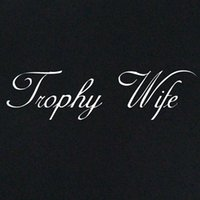New T- shirt Trophy Wife wedding gifts for her mum bacheloret...