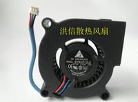 Delta 5020 BFB0512LD 12V 0.15A üç telli projektör türbin üfleyici fanı