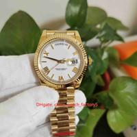 2 стиль высочайшего качества BP Maker V5 версия 40 мм Сни-дата 228238 Президент 18K Gold Asia 2813 Mechange Mechanical автоматические мужские часы часов