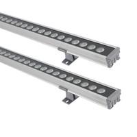 24W 36W 1m LED 벽 세탁기 풍경 빛 24V 실외 조명 벽 선형 램프 투광 조명 100cm Wallwasher