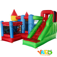 Inflatable trampoline Castle Inflatable Bounce House For Fes...