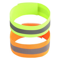 Safety Reflective Belt Strap Snap Arm Band Sports Running Ar...