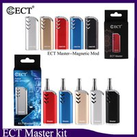ECT Master Kit 650mAh Preriscaldamento Batteria VV Vape Box Mod per 510 Discussione B1 Carrelli Vape Cartridges Serbatoio 100% Originale 0268116