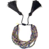 Go2boho Fit Miyuki Braccialetto Donna Pulseras Mujer 2019 Braccialetti di cristallo di gioielli Bohemian Estate Boho Chic Charm Tassel Fatti a mano
