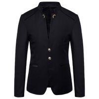 мужская куртка blazer Азии размер S-4XL мужчины пиджаки 2019 мужчины пиджак Slim fit пальто