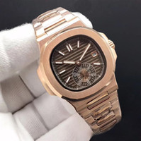 11 cores relógios de alta qualidade mecânica homens automáticos assistem pulseira de ouro rosa de aço inoxidável e caso 40mm