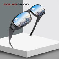 POLARSNOW 2019 Polarized Sun Glasses Men Fit Over Glasses Pr...
