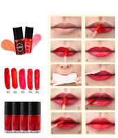 Samll Größe Multifunktions MIXIU Lip Tint Dyeing Flüssigkeit Lipgloss Rouge Wasserdicht Lipgloss Make-up Beauty Kosmetik erröten Lippen Lippenstift
