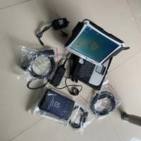 GM MDI Ferramenta Diagnóstica WiFi Interface profissional de varredura com laptop CF19 Touch Screen PC pronto para uso