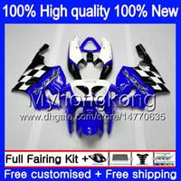 Kropp för Kawasaki ZX-7R 1996 2000 2001 2002 2003 203MY.50 ZX-750 ZX750 ZX 7R ZX7R 96 97 98 99 ZX 7 R ZX 750 00 01 02 03 Fairing Nice Blue