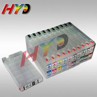 11pcs / set T6531-T6539 T653A T653B Refill Tintenpatrone mit Auto-Reset-Chips für Epson Pro 4900 4910 Tintenstrahldrucker